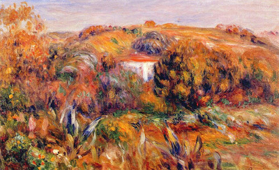 landscape at cagnes iii