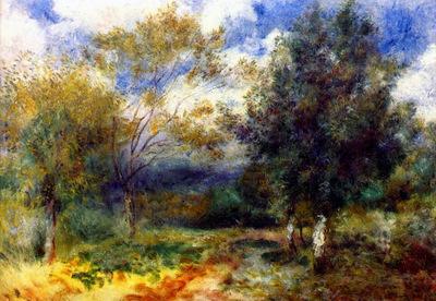 landscape in the sun 1880