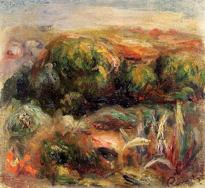 Landscape near Cagnes