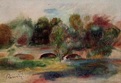 landscape with bridge 2