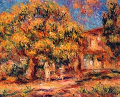 lime tree and farmhouse