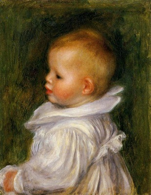 portrait of claude renoir 1902