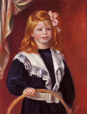 portrait of jean renoir also known as child with a hoop