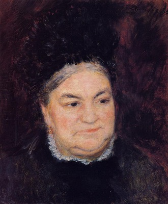 portrait of an old woman also known as madame le coeur