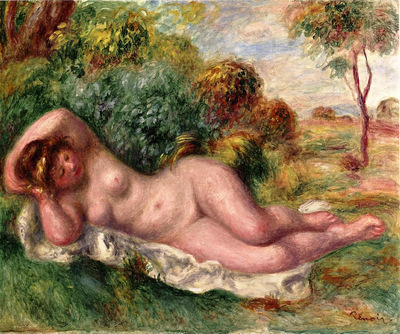 reclining nude also known as the bakers wife