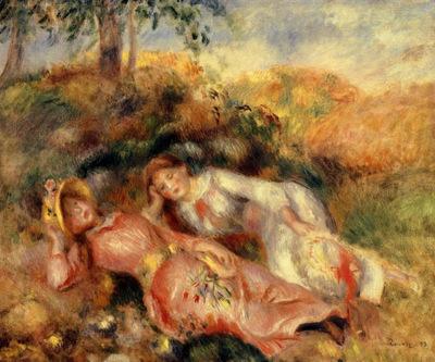 reclining women