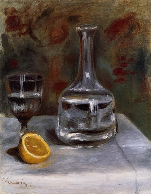 still life with carafe