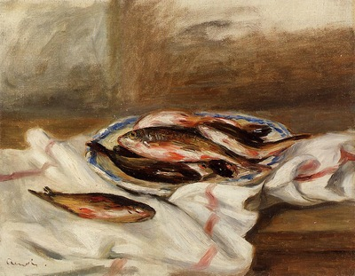 still life with fish