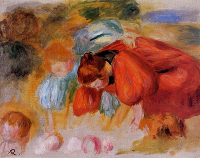study for the croquet game