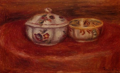 Sugar Bowl and Earthenware Bowl