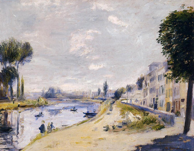 the banks of the seine bougival