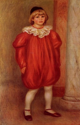 the clown also known as claude ranoir in clown costume