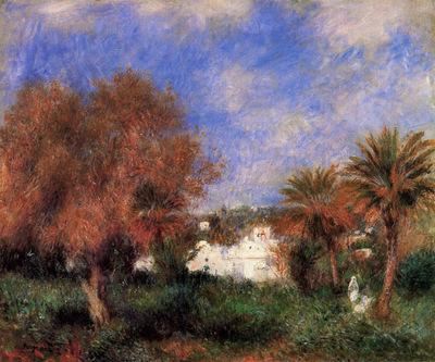 the garden of essai in algiers