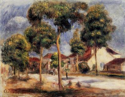 the sunny street