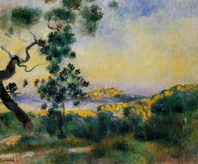 view of antibes 1892