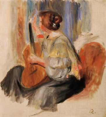 Woman with Guitar