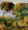 breton landscape trees and moor