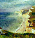 cliffs on the coast near pourville