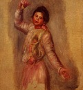dancer with castenets