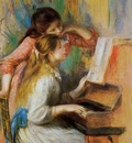 girls at the piano 2