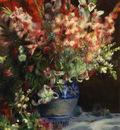 gladiolas in a vase 1874