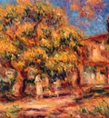 lime tree and farmhouse
