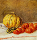 melon and tomatos