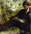 portrait of edmond maitre also known as the reader