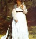 portrait of lise with umbrella