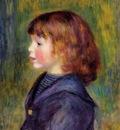portrait of pierre renoir in a sailor suit