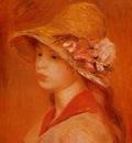 portrait of a young girl 1884