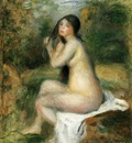Seated Bather