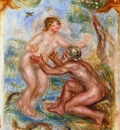 study for the saone embraced by the rhone