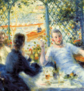 the canoeists luncheon 1879