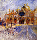 the piazza san marco venice