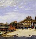 the pont des arts and the institut de france