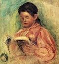 woman reading 1906