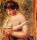 woman with a corset