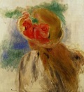 Young Girl in a Flowered Hat