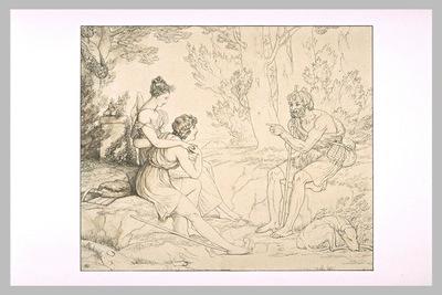 Philetas enseignant a Daphnis et Chloe