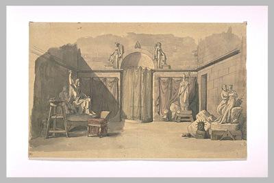 Un atelier de sculpture