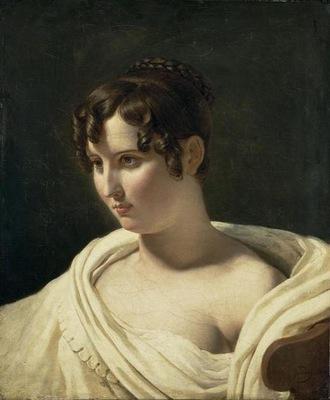 jeune femme en buste musee du Louvre
