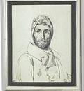 Jodocus Sebastiaen van den Abeele   Portrait du peintre Guerin