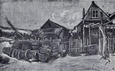 Flunderntrocknerei in Scheveningen