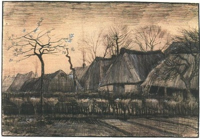 Houses with Thatched Roofs1884