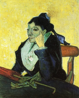 l arlesienne portrait of madame ginoux 1888