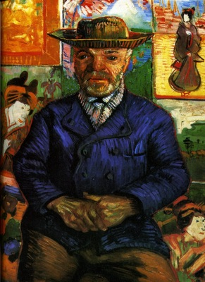 portrait of pere tanguy 1887