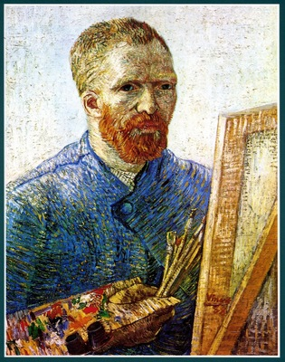 self portrait as a painter also known as self portrait in front of the easel