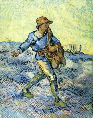 sower after millet