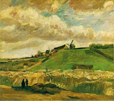 The Hill of Montmartre with Quarry